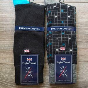 Other - 2 Pair Mens Sock Assortment